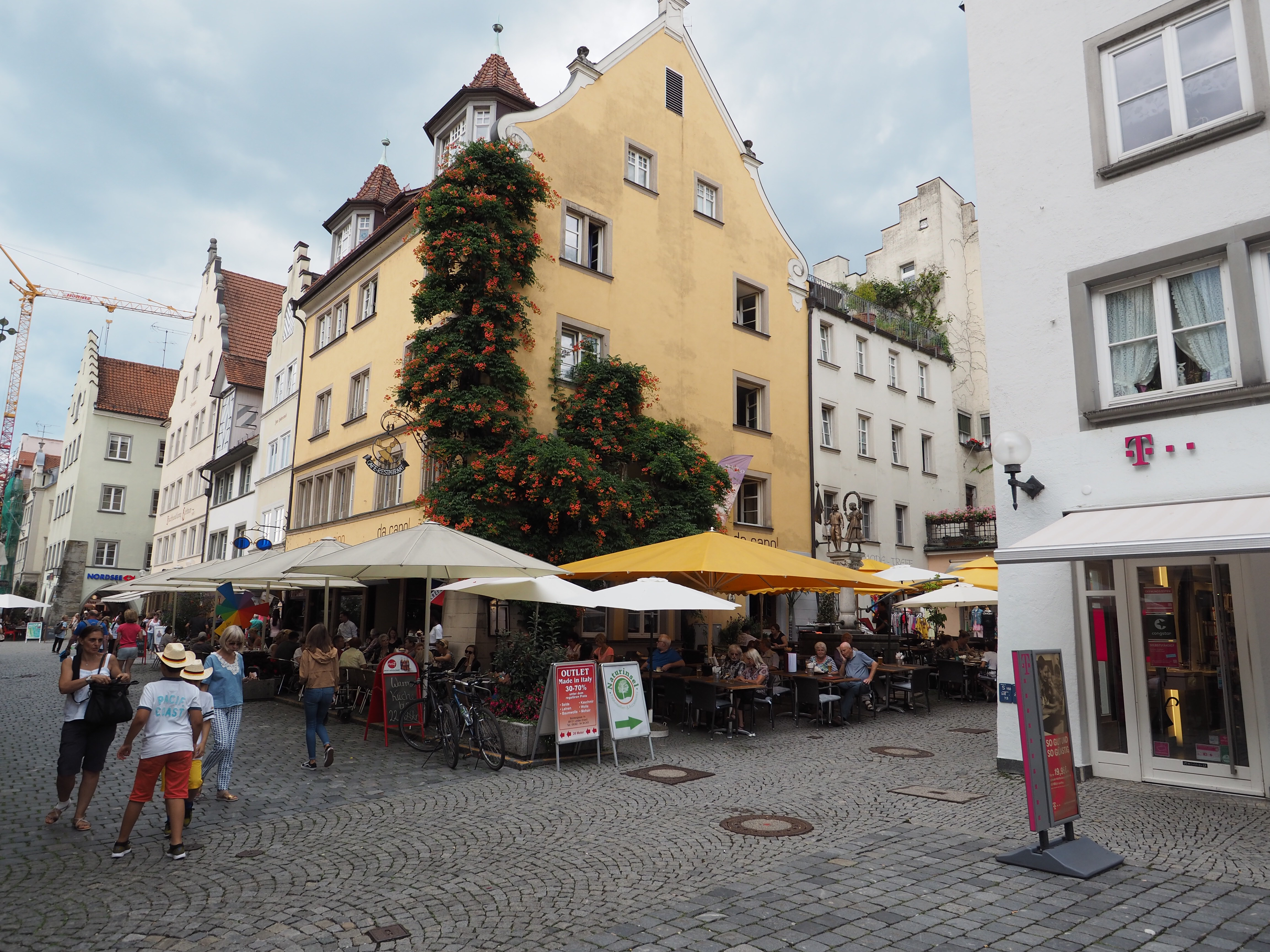 Das Restaurant 'da capol' in der Maximilianstraße