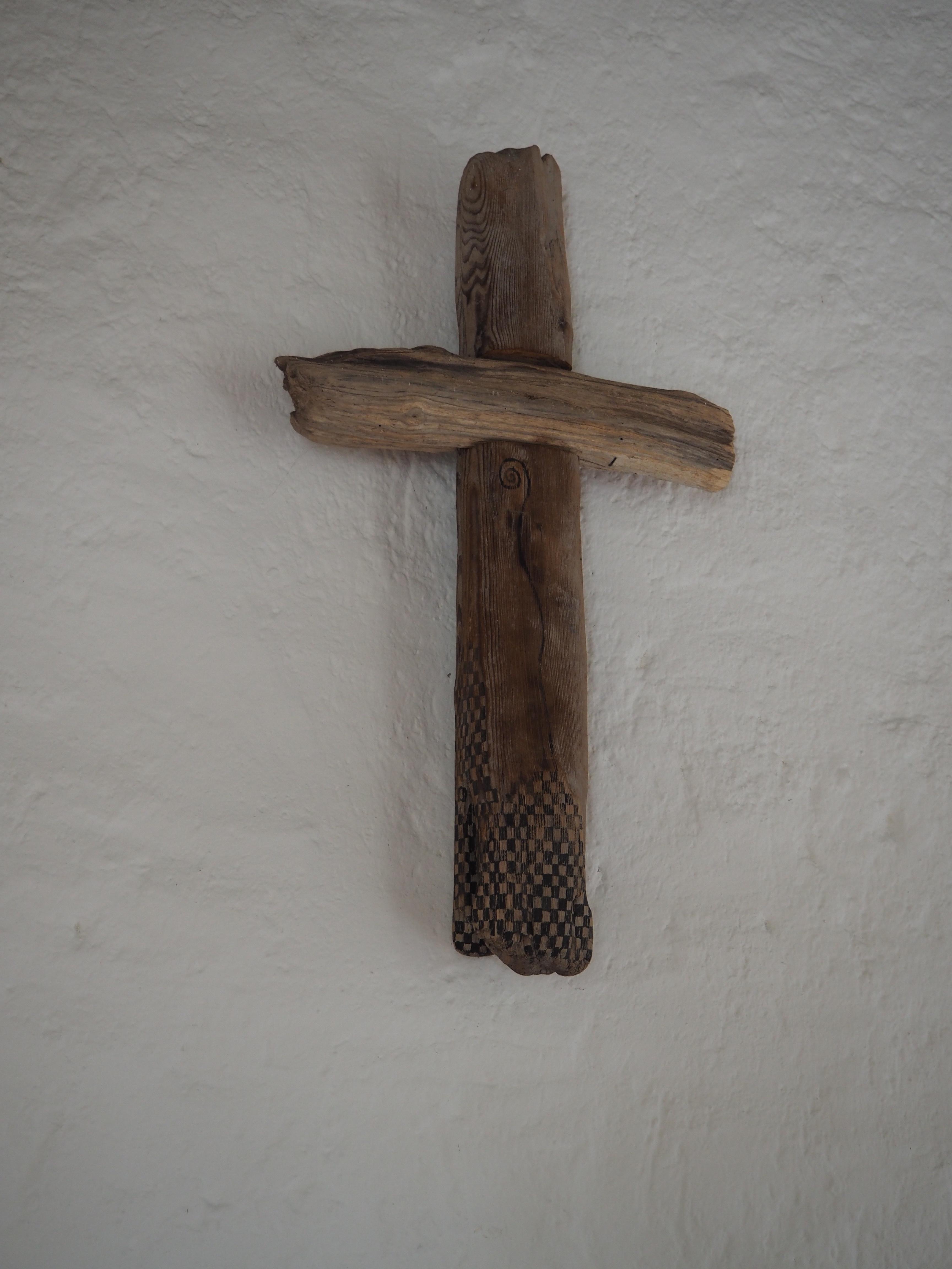 Kreuz im Andachtsraum