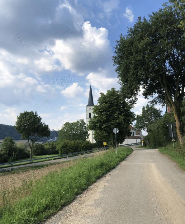 Die Kirche von Kirchanhausen