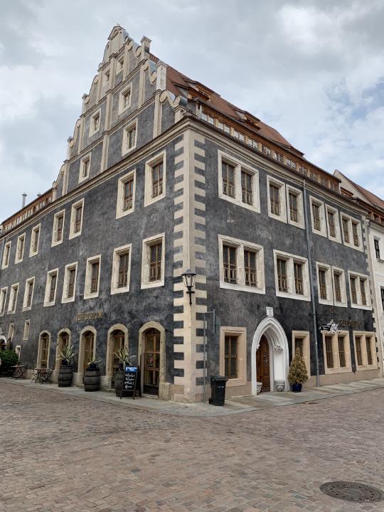 Das Hotel Refugium in der Altstadt