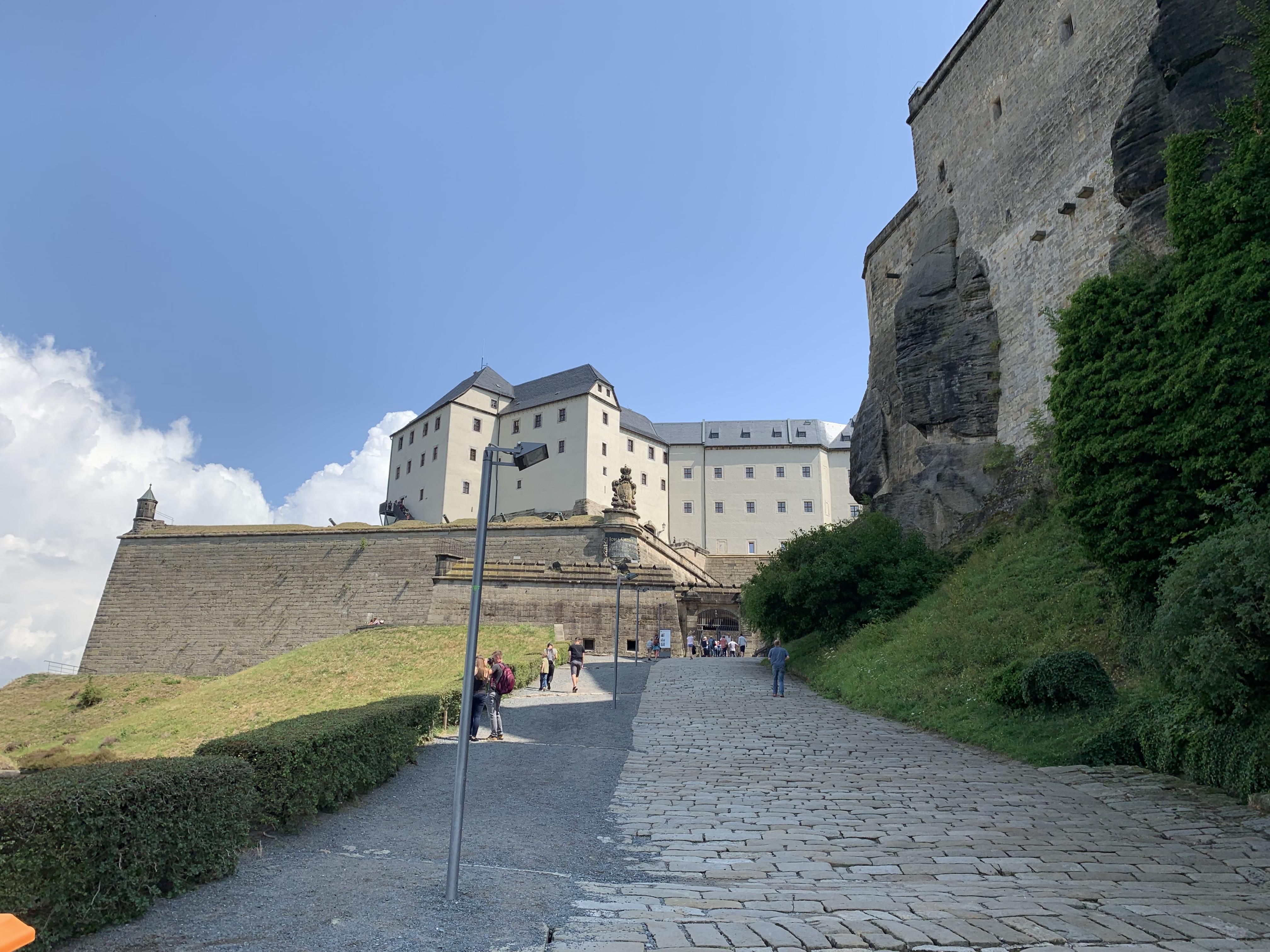 Die letzen Meter zum Tor