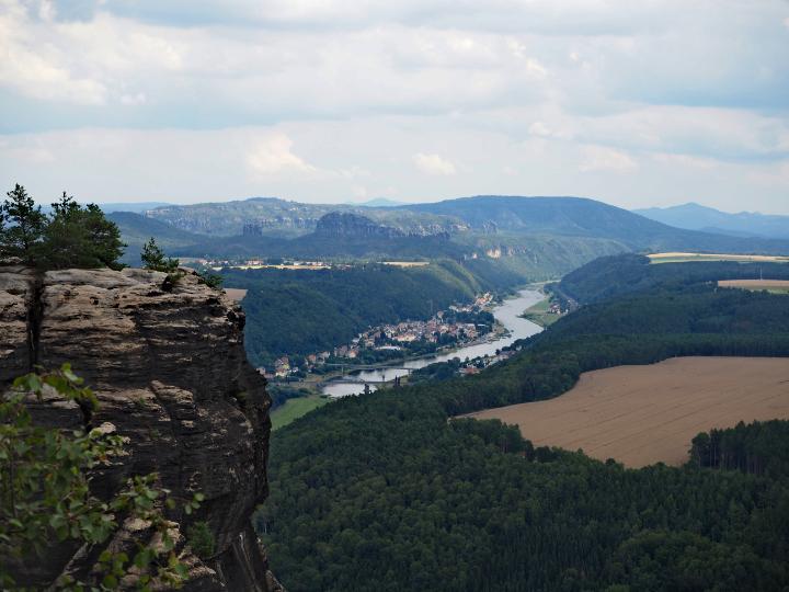 Bad Schandau und die Schrammsteine